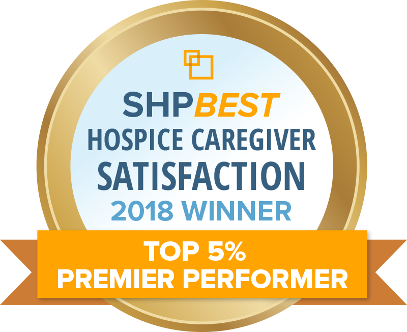 SHP Hospice Caregiver Satisfaction Award 2018